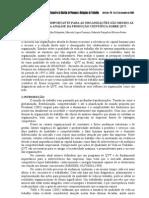O RECURSO MAIS IMPORTANTE PARA AS ORGANIZAÇÕES SÃO MESMO AS PESSOAS UMA ANÁLISE DA PRODUÇÃO CIENTÍFICA SOBRE QVT - 2009