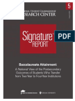 A National View of the PostsecondaryOutcomes of Students Who Transferfrom Two-Year to Four-Year Institutions