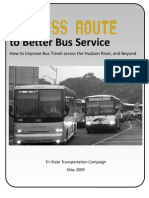 Express Route to Better Bus Service