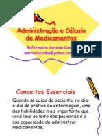 Administração e Cálculo de Medicamentos senac