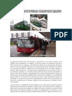Plan de Competitividad Transporte Masivo