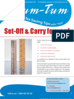 Set Off & Carry Forward Chart