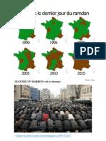 Ramadan en France de 1990 à 2015