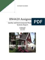 BN4420 - Assignment - 2012-13 (1)