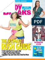 Study Breaks Magazine- August 2013, AUS