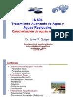 IA604 Caracterizacion Aguas