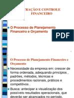4 O Processo de Planejamento Financeiro e Orçamento