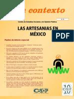 Contexto No.20 Artesania en Mexico