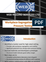Web Rigging Services Ltd - Pressure Testing