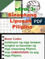 Sinaunang Lipunang Pilipino