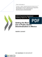 Decentralisation in Mexico