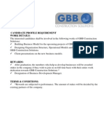 Candidate Profile Requirement (1)