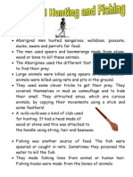 Aboriginal Fact Sheets