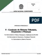 20100917 v - comissão do Sistema Tributário, Orçamento e Finanças volume 141