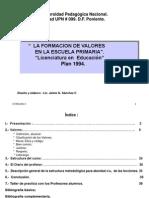 Apuntes+Formacion+Valores,+Escuela+Primaria.