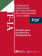 Clasificación Internacional delFuncionamiento, infancia