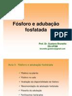 Aula 3-Fosforo e Adubacao Fosfatada