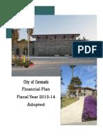 coronado 2013-14 adopted budget
