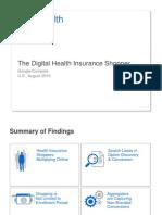 Digital Health Insurance Shopper Research Studies