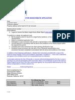 Cash for Grass Application