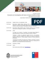 """Programa Jornada """"Formando a las Investigadoras del Futuro"""