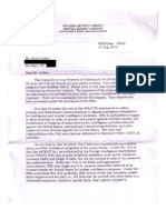 Daily Dot Collier NSA FOIA response