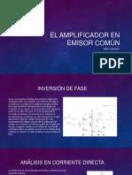 EL AMPLIFICADOR EN EMISOR COMÚN.pptx