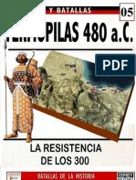 005.TERMÓPILAS. 480 a.C