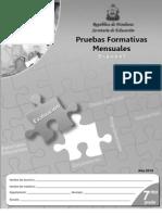 Prueba Formativa 7º Español (2010)