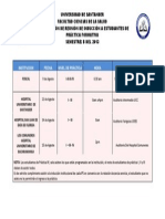 PROGRAMACIÓN DE INDUCCIÓN A SITIOS DE PRÁCTICA- SEMESTRE B 2013 (1)