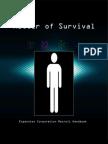 Matter of Survival Rulebook