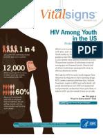 USA HIV statistics among youth 2012
