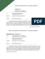 Memorandum 2013