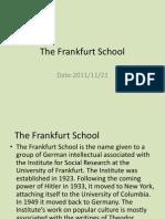The Frankfurt School(20111121)