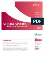 Stroke Specific Education Framework