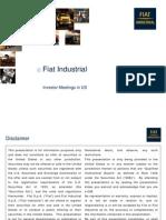 Fiat Industrial Investor Meetings in US Dec2013!17!2010