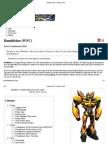 Bumblebee (WFC) - Transformers Wiki