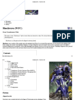 Shockwave (WFC) - Transformers Wiki