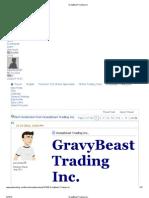 GravyBeast Trading Inc