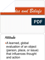 Attitudes and Beliefs