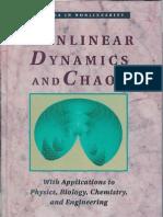 Strogatz, S. H. - Nonlinear Dynamics and Chaos