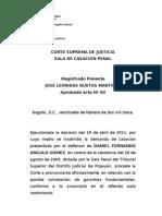 CSJ- Extorsión y rebaja de penas (No. 33254, 2013-02-27)