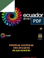 Proyecto Mes Del Ecuador en Plaza Loreto