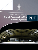 The UK Approach to Unmanned Aircraft Systems