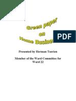 Presented by Herman Toerien Member of the Ward Committee