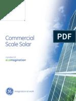 GE Solar Commercial Brochure