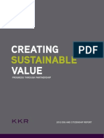 KKR - Creating Sustainable Value