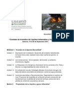 Combate de Incendio de Liquidos Inflamables y Combustibles