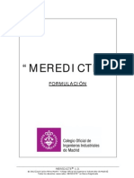 MEREDICTE-Formulacion
