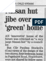 Kent Messenger column 27th July 2007 Crossway planning consent